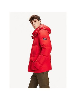 Hooded Down Puffer Jacket by Tommy Hilfiger