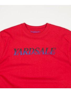 Yardsale Fade T Shirt   Red by Yardsale Skateboards