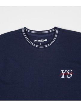 Yardsale Polo Ys T Shirt   Navy by Yardsale Skateboards