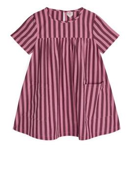 Striped Poplin Dress by Arket