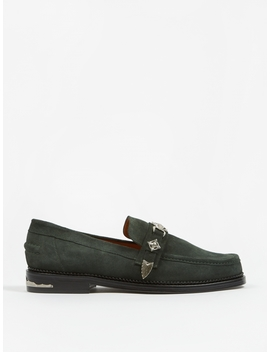 Suede Loafer   Green by Toga Virilis