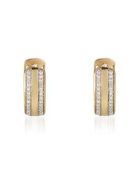 Paved With Love 0.20ct Diamond Earrings by Artisan Joaillier