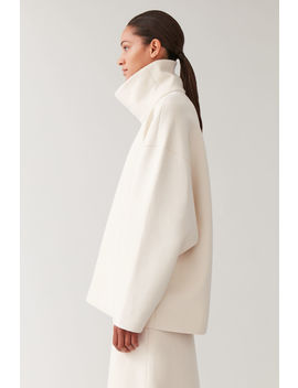 Oversized Turtleneck Top by Cos