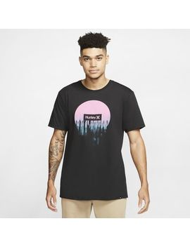 T Shirt Męski Hurley Premium Smeared Out. Nike Pl by Nike