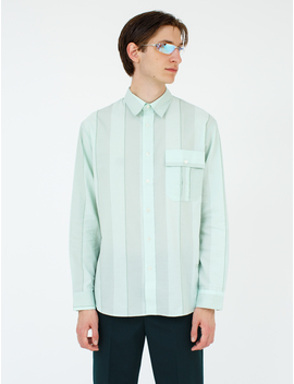 Broad Striped Cotton Shirt by Jw Anderson