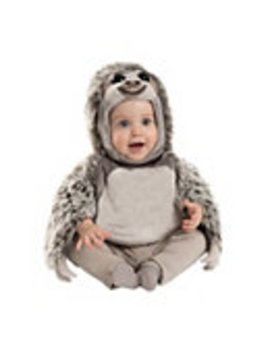 Baby Faux Fur Sloth Costume by Spirit Halloween