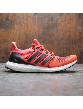 Adidas Men Ultra Boost (Red / Core Black / Solar Red) by Bait