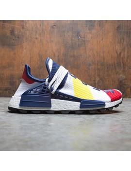Adidas X Pharrell Williams Men Hu Nmd Bbc (White / Scarlet / Bright Yellow) by Bait
