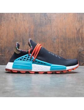 Adidas X Pharrell Williams Men Solar Hu Nmd (Black / Clear Blue / Collegiate Orange) by Bait
