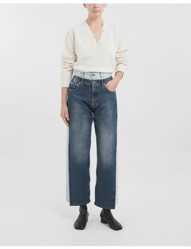 Spliced Jeans by Maison Margiela