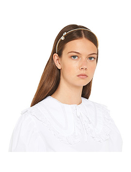 Solitaire Jewels Headband by Miu Miu