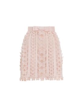 Super Eight Flutter Mini Skirt by Zimmermann