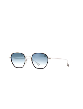 Chrome Hearts Bone Prone 1 Black And Shiny Silver by Chrome Hearts Sunglasses