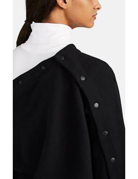 Kate Asymmetric Snap Detailed Cotton Sweatshirt by Rag &Amp; Bone