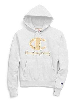 Exclusive Champion Life® Men's Hood, Chainstitch C Logo by Champion