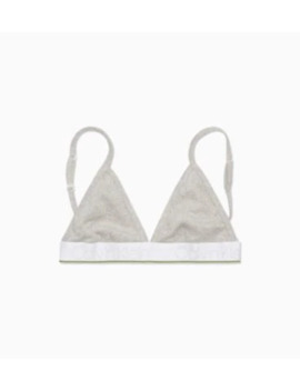 Girls Triangle Bra   Ck Rib by Calvin Klein