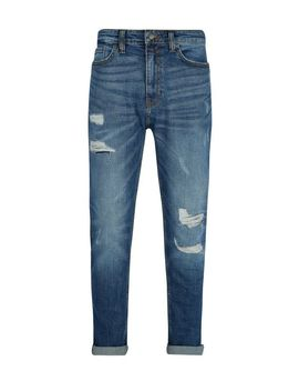 Organic Midwash Tapered Fit Carter Jeans by Burton