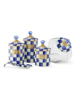 Mackenzie Childs Royal Check Countertop Collection by Williams   Sonoma