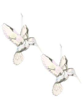 Acrylic Hanging Hummingbird 2pk   Clear by B&M