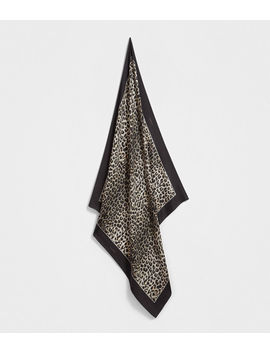 Leppo Silk Scarf by Allsaints
