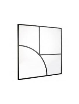 80 X 80cm Black Geometric Mirror80 X 80cm Black Geometric Mirror by Edina                         Edina