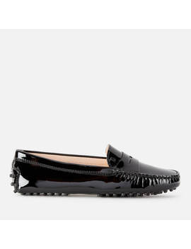 Tod's Women's Patent Gommino Loafers   Black by Tod's