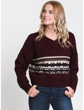Womens Jana Pattern Sweater by Harlowharlow