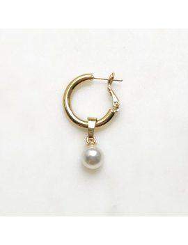 Hoop Pearl by By Nouck