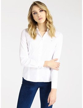 Blouse Stras Voorkant by Guess