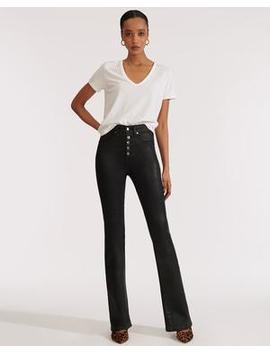 Beverly High Rise Skinny Flare by Veronica Beard