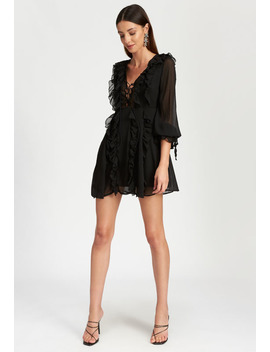 Hotline Bling Mini Dress – Black by Lioness Fashion