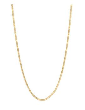 Gold Plated Karen Chain Necklace by Maria Black