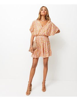 Kimono Sleeve Mini Dress by Sportsgirl