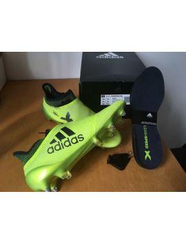 Adidas X 17+ Purespeed Sg 44 2/3 Gelb Schwarz by Ebay Seller