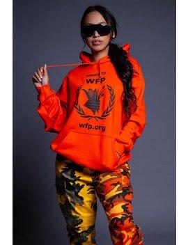 Orange Donate Hoodie by Coal N Terry