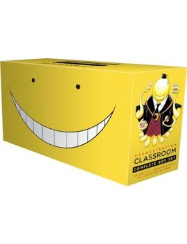 Assassination Classroom Complete Box Set : Includes Volumes 1 21 With Premium by Yusei Matsui
