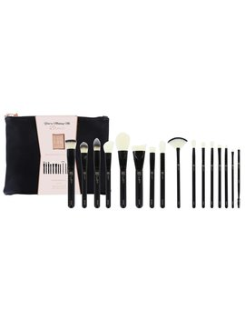 16 Piece Brush Bag Collection by Sosu By Sj