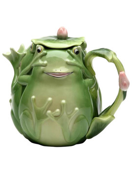 Frog Teapot by Cosmos Gifts Corp.