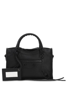 mini-classic-city-embossed-leather-bag by balenciaga