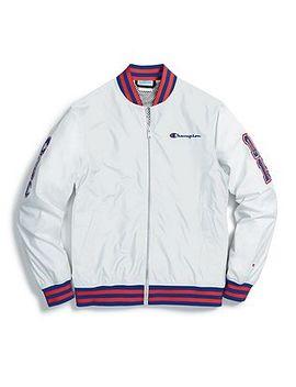 Champion Life® Men's Baseball Jacket, Multi C Logo Patches by Champion