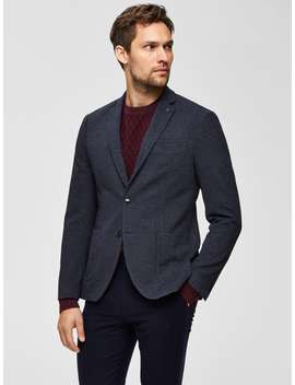 Slim Fit Single Breasted   Blazer by Selected
