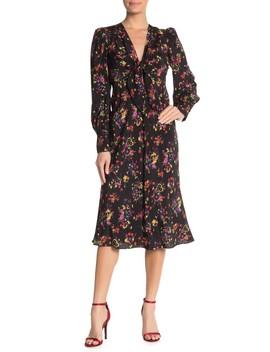 Amber Silk Blend Dress by Veronica Beard