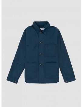 Utility Jacket 2 Ply Nylon Navy by Engineered Garments Workaday