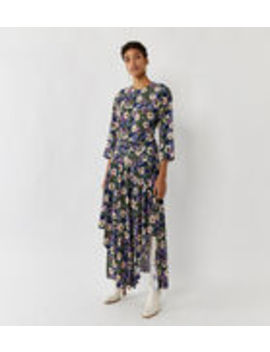 Hibiscus Floral Maxi Dress by Warehouse