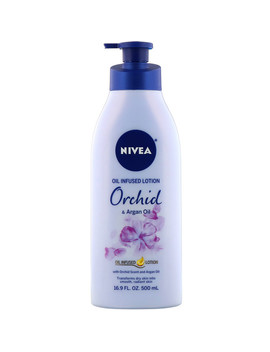 Nivea, Oil Infused Lotion, Orchid &Amp; Argan Oil, 16.9 Fl Oz (500 Ml) by Nivea