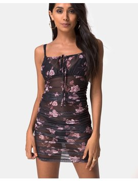 Guenalia Dress In Dusky Rose By Motel by Motel