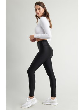Leggings Luxueux Luisants à Taille Haute by Garage