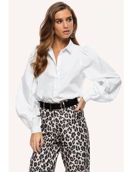 All About Love by Loavies White Blouse