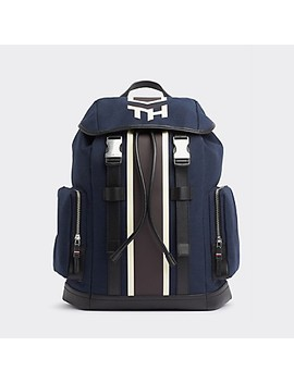 Th Canvas Backpack by Tommy Hilfiger