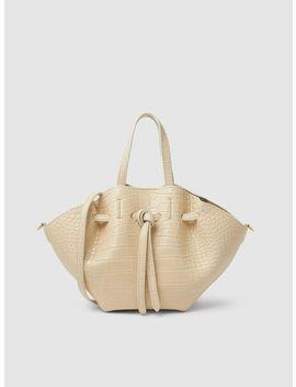Lynne Mini Vegan Leather Tote Bag by Nanushka